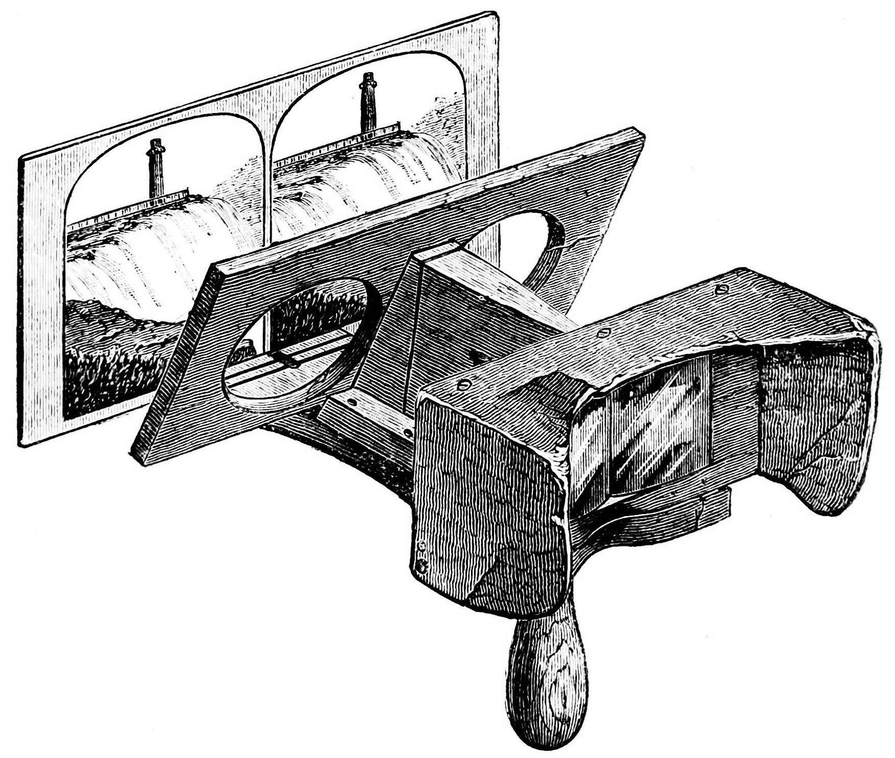 The American Grandfather Stereoscope, 1861.