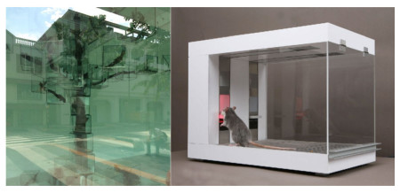 Kuribayashi, Takashi, 'Trees', 2015, Mixed Media installation, Singapore Art Museum, Singapore. Author photo [left]; Marcovici, Michael, 'Rattrader', Art and Economy Vol 1 (2014), pp52­59, http://www.rattraders.com [right] cognitive capitalism